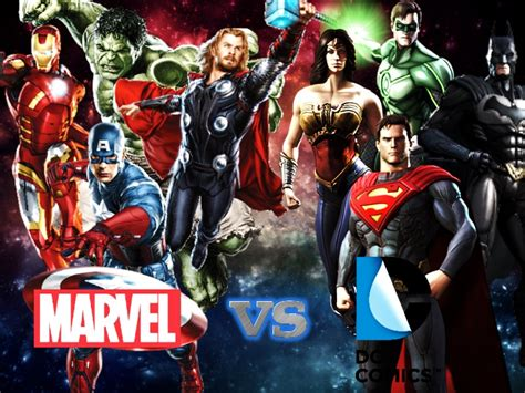 Marvel Vs Dc Wallpaper Wallpapersafari