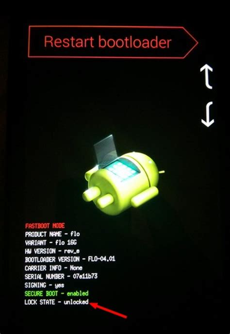 android bootloader android fastboot bootloader screenshot tecnolog 237 a al d 237 a