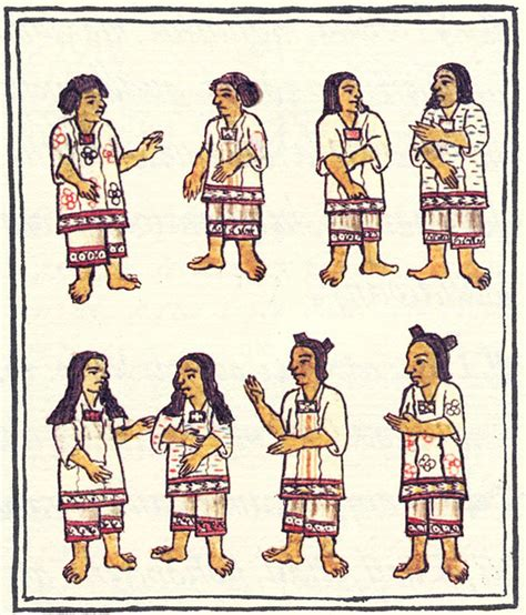aztec men nobles hairstyles girls hair and make up