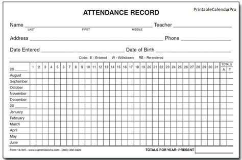 beautiful  employee absence tracking form