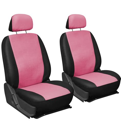 Leather Seat Covers Faux Pu Leather Truck Car Seat Covers 11pc Superior Pink