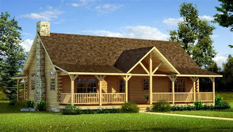 frisco pass log cabin home plan 088d 0355 house plans and