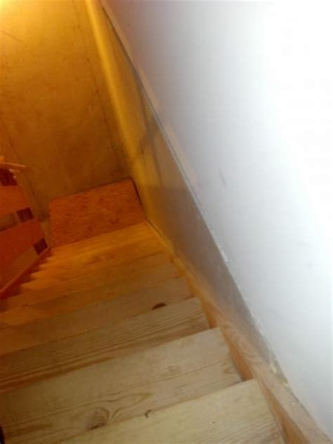 hanging drywall on concrete basement wall doityourself