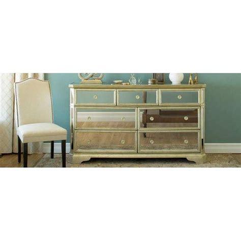 Hello Dresser Drawer by Borghese Mirrored 7 Drawer Dresser