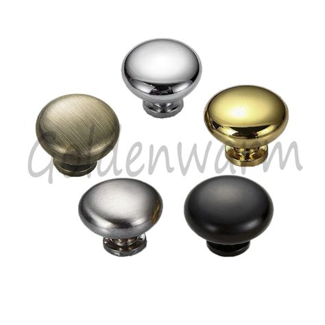 Black Kitchen Cabinet Knobs 216 28mm Solid Kitchen Cabinet Pull Knobs Door Handles Antique Bronze Black Ebay