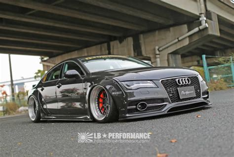 Audi A7 Upgrades by Audi A7 S7 Receive Styling Upgrades From Liberty Walk