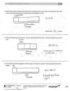 diagram eureka math eureka math grade 3 module 3 lesson 12 problem set page 2 eureka math eureka