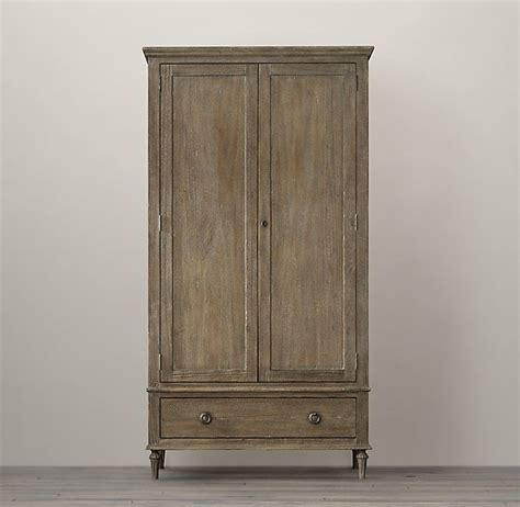 restoration hardware armoire maison armoire restoration hardware light wood other