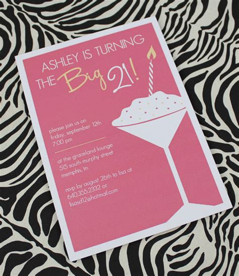 templates for 21st birthday cards 21st birthday invitation template for girls download print