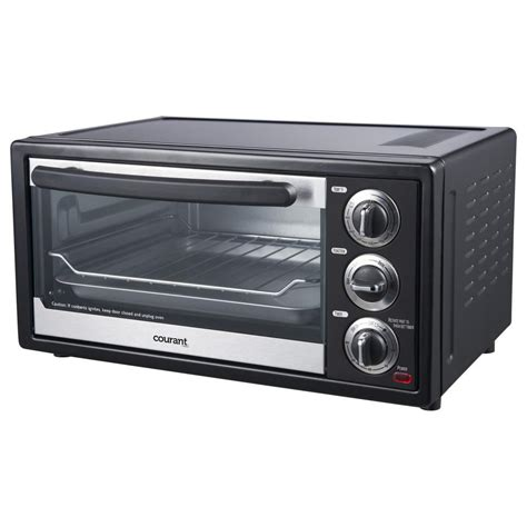 Toaster Oven Functions Courant 6 Slice Toaster Oven With Convection Amp Broil Functions