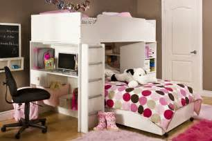 loft beds with desk decosee