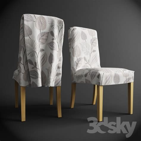 Removable Covers by 3d Models Chair Henriksdal Chair With Removable Covers