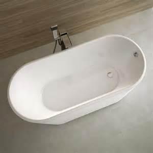 baignoire ilot ovale 162x72 cm dimension