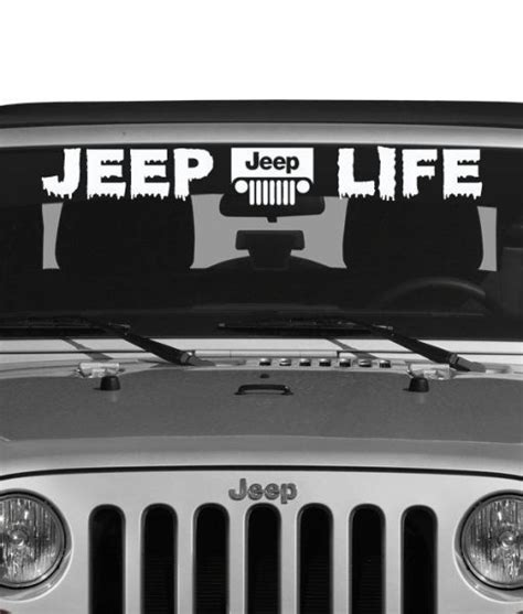 jeep life decal jeep life decal sticker satu sticker
