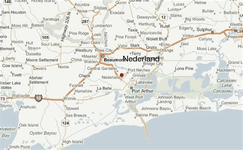 map of nederland texas nederland location guide