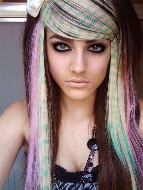 emo hairstyles for long hair girls latest long emo hairstyles for the girls hairzstyle com
