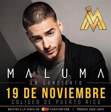 maluma conciertos 2016 argentina concierto de maluma en san juan puerto rico 19 de