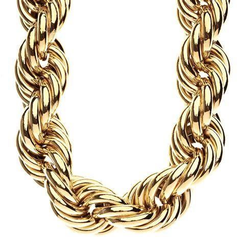 B2Bling.com Shop   Heavy Solid Rope DMC Style Hip Hop