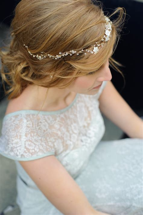 Handmade Bridal Headpieces - parisian perfection style wedding rmc styled