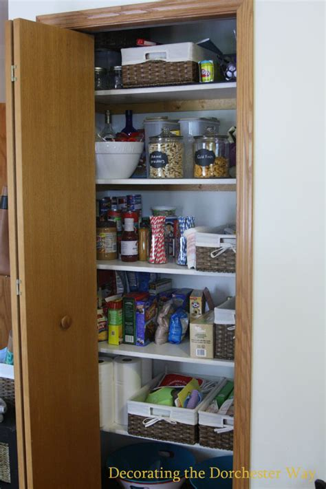 Pantry Dorchester by Decorating The Dorchester Way Organized Kitchen Pantry