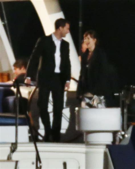 fifty shades darker filming now 50 shades darker filming continues on luxury yacht after
