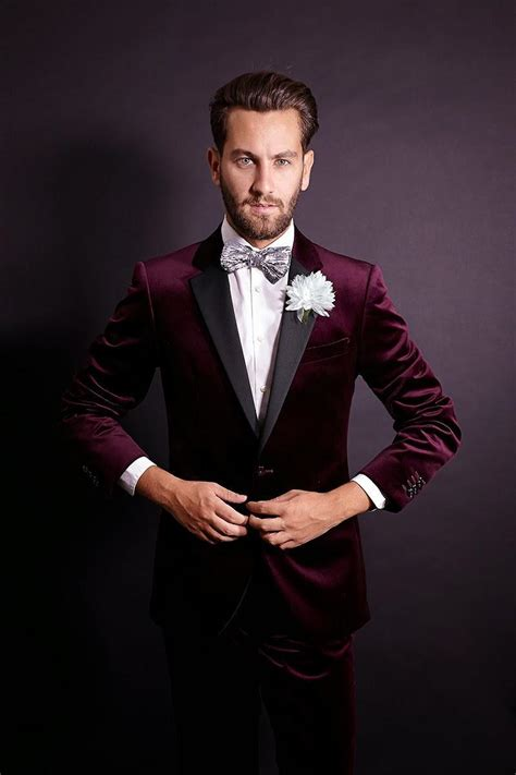 New Vest Deluna Maroon Matt maroon suits for prom dress yy