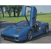 1991 Bugatti EB 110  Milestones