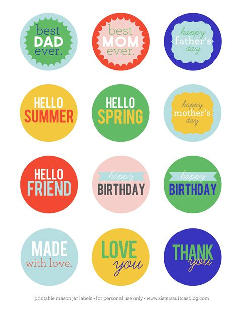 printable jar labels free mason jar labels template search results calendar