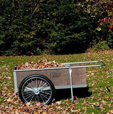 garden cart with pneumatic wheels medium