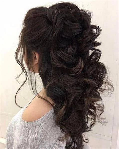 Half Up And Hairstyles by 32 Pretty Half Up Half Hairstyles Partial Updo