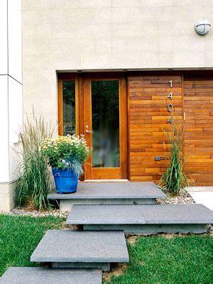 ways  enhance  front entry front door steps