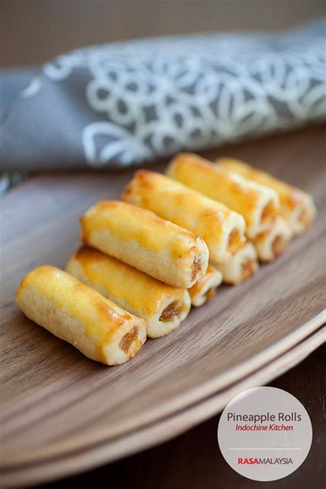 new year rolls recipe pineapple rolls nastar a must for new year