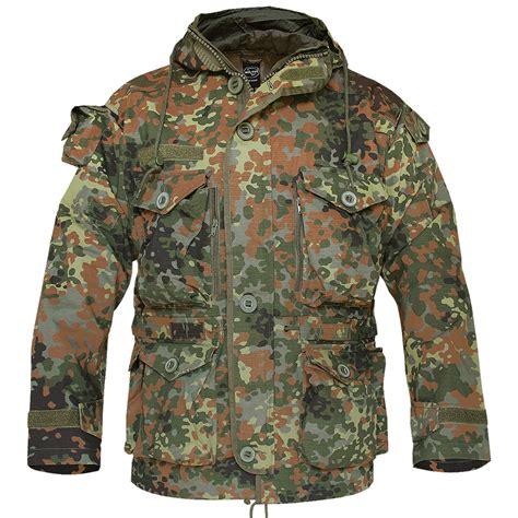 Jacket Bomber Bw patrol smock army combat parka mens jacket bw flecktarn camo s 3xl ebay