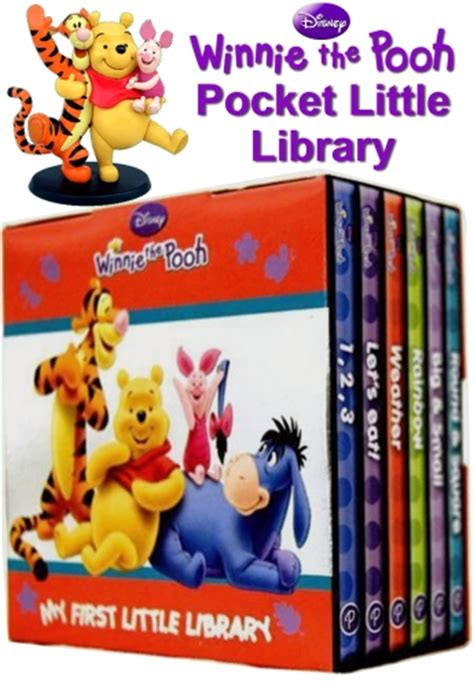 winnie the pooh pocket library disney winnie the pooh movie pocket little library 6 books