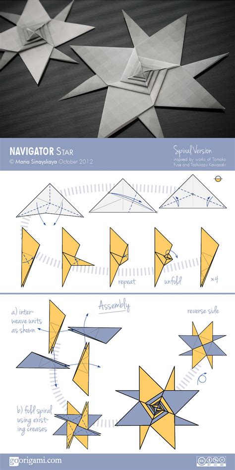 Origami Book Diagram - navigator by sinayskaya diagram go origami