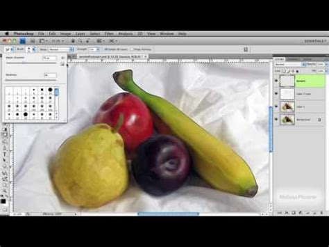 tutorial smudge painting photoshop cs4 using the smudge tool to create an oil painting in