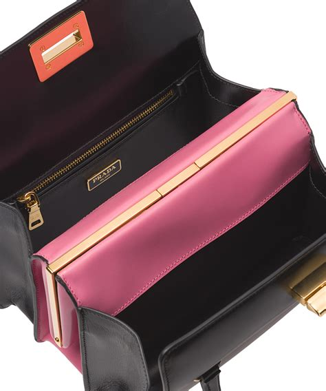 Prada Mix Colour Set 2 In 1 8078 prada box tote bag bragmybag