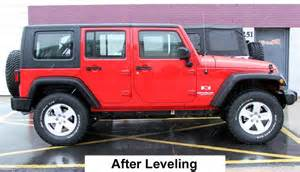 Jeep Tj Leveling Kit Photos Of 2014 Wrangler Unlimited With Leveling Kit