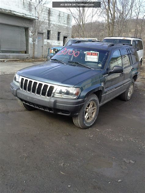 jeep cherokee sport 2002 2002 jeep grand cherokee laredo sport utility 4 door 4 0l