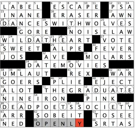 film follow up crossword clue rex parker does the nyt crossword puzzle 1990 nicolas
