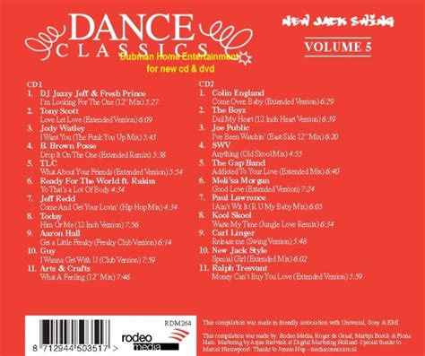 dance classics new jack swing dance classics new jack swing vol 5 2 cd set guy gap