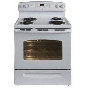 home depot electric range ge 5 3 cu ft electric range with self cleaning oven in