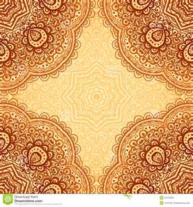 ornate ethnic henna colors vector background stock photos