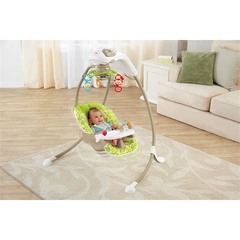 rainforest friends cradle n swing fisher price rainforest friends cradle n swing