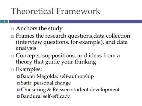 exles of theoretical framework in research paper theoretical frameworks