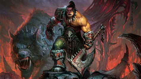 wallpaper 4k wow world of warcraft orc 4k wallpapers hd wallpapers id