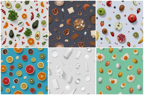 food pattern photography 10 food photography patterns by h3design thehungryjpeg com