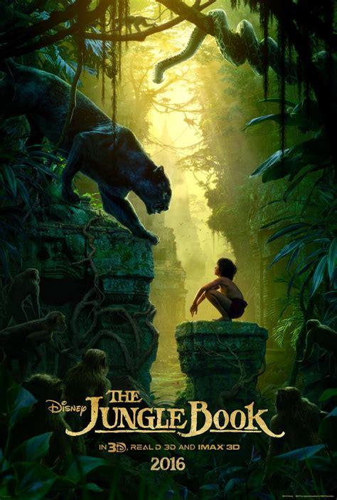 film disney jungle disney reveals new poster for jungle book mxdwn movies
