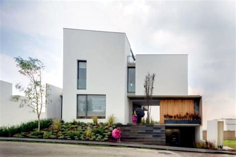 modern l shaped residential building when merging indoor