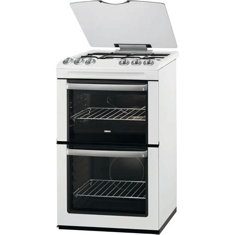 Dapur Gas Oven Zanussi buy zanussi zcg55wgw gas cooker with oven white